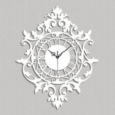 Stylish wall art decor or original gift idea. Clock Decor, Wall Art Decor, Clock Wall, Kitchen Wall Clocks, Room Decor, Wooden Clock, Wooden Walls, Handmade Clocks, Art Diy
