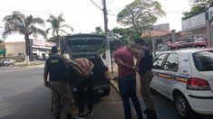 Trio é preso após assaltarem loja e fazerem reféns em Pará de Minas