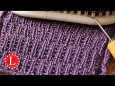 LOOM KNITTING Stitch Patterns - The Rambler | Loomahat - YouTube