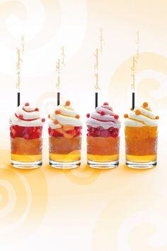 Les Babas de Christophe Adam |  Fresa-Melo, grosella y frambuesa, Pomelo-Naranja | #baba #ChistopheAdam