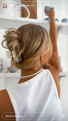 Hair Day, New Hair, Hair Inspo, Hair Inspiration, Aesthetic Hair, Dream Hair, Pretty Hairstyles, Teen Hairstyles, Hair Goals
