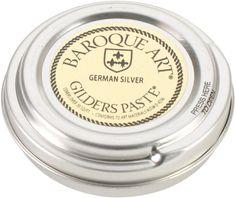 baroque art gilders german silver paste - 1.5 oz.