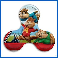 Alvin And The Chipmunks Tri-Spinner Fidget Toy Hand Spinner Camouflage, Stress Reducer Relieve Anxiety And Boredom Camo - Fidget spinner (*Amazon Partner-Link)
