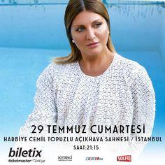 🎙Sibel Can ✨💫🎶🌟Yaz  konserleri... Biletler çok yakında @biletix 'te . 🔸29 Temmuz Cumartesi Harbiye Cemil Topuzlu Açıkhava Sahnesi / İstanbul  #sibelcan