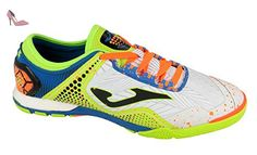 Joma Ligue 502 Indoor blanc Chaussures de foot Salles Chaussures soccer futsal