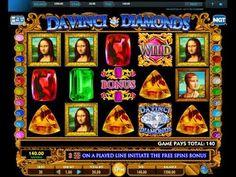 Da Vinci Diamonds video slot - https://www.slotzzz.com/games/da-vinci-diamonds-video-slot #DaVinciDiamonds #videoslot