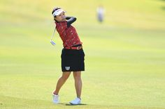 Pei-Ying Tsai Photos Photos - Pei-Ying Tsai of Taiwan hits her second shot on the 18th hole during the first round of the Resorttrust Ladies at the Oakmont Golf Club on May 26, 2017 in Yamazoe, Japan. - Resorttrust Ladies - Day 1
