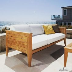 Who wouldn't love to relax in this gorgeous spot?      #Afydecor #FurnitureOnlineShop #WoodenFurniture #WoodenSofa #CustomFurniture #MadetoOrder #MadeinIndia #OutdoorFurniture #like4like #followforfollow