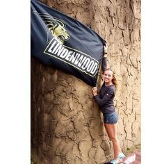 Representing Lindenwood Univversity!
