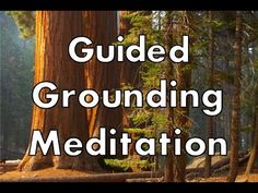 This is a guided grounding meditation exercise that will anchor you in your body and in the here and now. Grounding techniques come in many forms. This exerc...