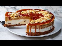 Delicious cake recipe without eggs and without baking to lure your greedy guests!| Cookrate - YouTube Delicious Cake Recipes, Yummy Cakes, Cake Recipes Without Eggs, Cake Toppings, No Bake Cake, Baking Recipes, Sweets, Cooking, Ethnic Recipes