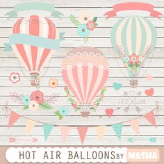 hot air balloons personalized - Buscar con Google