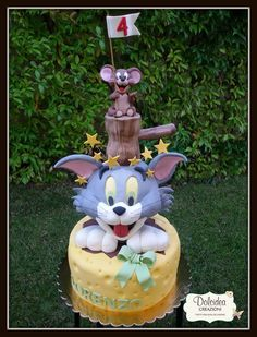 Torta Tom e Jerry - Tom and Jerry cake