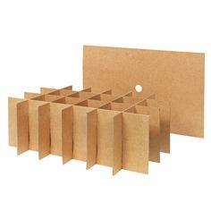 Separatory ułatwiające pakowanie i zapewniające bezpieczniejsze przechowywanie…