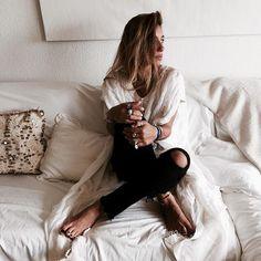 """Off White...#fashion #bakchic #kaftan #love"" Photo taken by @bakchic_thelabel on Instagram"
