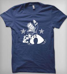 Struttin' Sailor Boy Women's T-Shirt | This nautical tee features a vintage sailor boy on leave strut... | T-Shirts