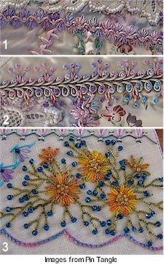 crazy quilting by Sharon Boggon -- also added to Craft Beading and Quilting…