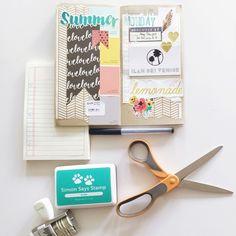 Amy Tangerine's Traveler's Notebook