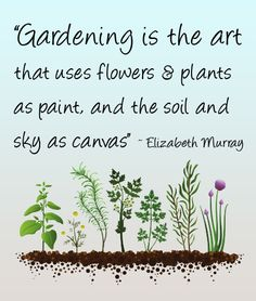 Gardening is the Art