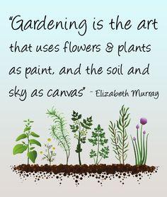 Gardening is the Art