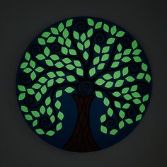 Salvaged Wall Art: Tree of Enlightenment