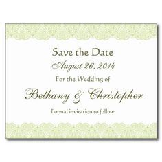 Black And Wine Red Lace Save Date Wedding  Postcard  Red Wine