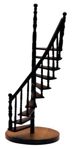 Best Rustic Miniature Spiral Staircase Sculpture Miniature 400 x 300