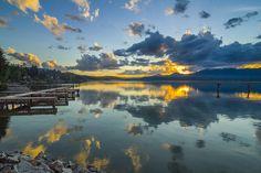 Lake Pond Oreille.
