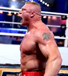 Brock Lesnar beats The Big Show with 100 steel chair blows to win the 2014 Royal Rumble