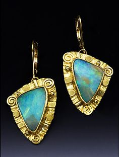 Out of all stones Boulder Opal is the most magical and intriguing... Can you believe it is just a rock? I found some exquisite piece...