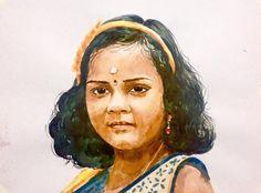 Portrait - Watercolour