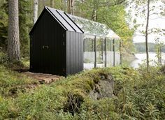 Prefab Garden Shed from Kekkilä Garden as a personal retreat.