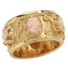 I've always loved Cameos ....this ring is so pretty.