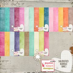 Solidified Bundle {one} :: Papers :: Memory Scraps