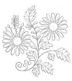 Et Hop Broderie Dantan Embroidery Patterns And Ribbon Brush Embroidery, Hand Embroidery Patterns, Ribbon Embroidery, Embroidery Stitches, Embroidery Designs, Diy Bordados, Rosemaling Pattern, Free Motion Quilting, Fabric Painting