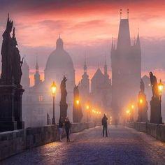 Карлов мост.Прага.Чехия.