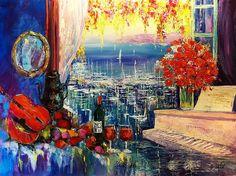 Paintings say a thousand words. #ArtbyDuaiv #Duaiv #Painting #Art
