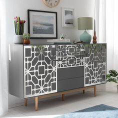 Aster Furniture Overlays Mirrored Furniture Furniture   Etsy Mirrored Furniture, Refurbished Furniture, Ikea Furniture, X 23, Malm, Aster, Planet Decor, Golden Mirror, Pvc Panels