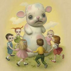 Mark Ryden Mark Ryden, Emo Art, Goth Art, Audrey Kawasaki, Arte Lowbrow, Creepy Cute, Weird Art, Objet D'art, Surreal Art