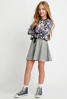 Trendy fashion outfits for teens forever 21 skater skirts Ideas Outfits Niños, Couture Outfits, Cute Girl Outfits, Outfits For Teens, Fashion Outfits, Couture Dresses, Fashion Clothes, Preteen Fashion, Kids Fashion