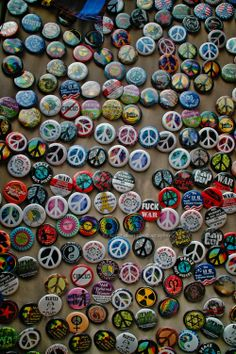 #Peace Buttons