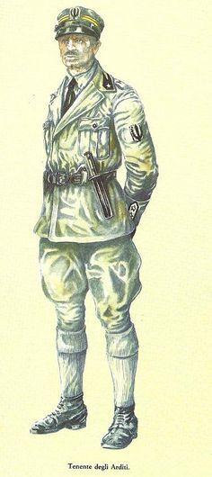 Regio Esercito - Tenente degli Arditi, 1915-18, pin by Paolo Marzioli