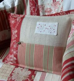Pillow ~ Patchwork Details 028