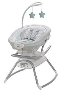 Stylish Paradise Baby Rocker Animal Bouncer Chair with Music /& Vibrations