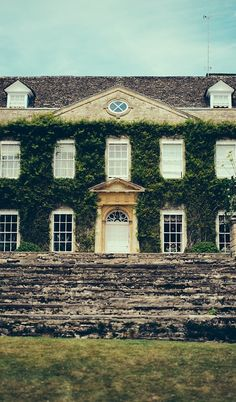 The wedding venue, an estate in the Cotswolds.