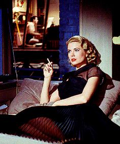 film fashion Grace Kelly rear window gabbsgifs* lisa fremont i love her dresses in this movie gory gory what a hell of a way to queue