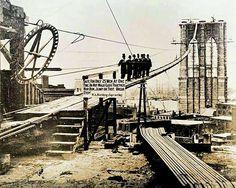 c1880 . Brooklyn Bridge