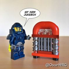 #LEGO_Galaxy_Patrol #LEGO #Jukebox #RockAndRoll #RockNRoll #Music #Diner