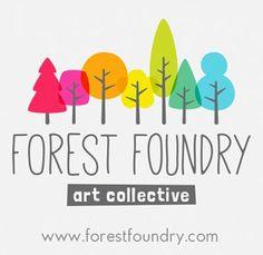 my doodles and dalliances at forest foundry Daycare Logo, Forest Logo, Rainbow Logo, Tree Logos, School Logo, Logo Restaurant, Kids Logo, Kids Branding, My Doodle