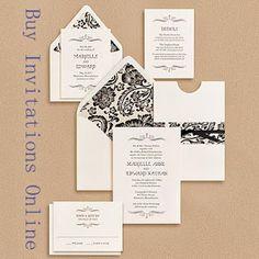 Vintage Wedding Invitations
